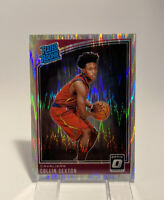 2018-19 Optic Shock Prizm Collin Sexton RC Rated Rookie Refractor Mint #180 SP