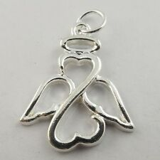 29PCS Antiqued Silver Vintage Alloy Hollow Angel Blame Pendant Charms 09709