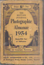 INDIA - THE BRITISH JOURNAL PHOTOGRAPHIC ALMANAC 1954 WITH 32 GRAVURE PICTURES