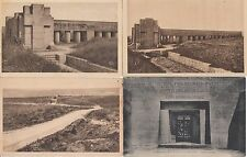Lot 4 cartes postales anciennes GUERRE 14-18 WW1 VERDUN TRANCHEE BAIONNETTES