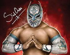 SIN CARA #1 (WWE) - 10X8 PRE PRINTED LAB QUALITY PHOTO (SIGNED) (REPRINT)