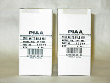 (2x) 9004 PIAA 3800K Star White Light Bulbs 65/45W=110/85W HB1 Twin Pack
