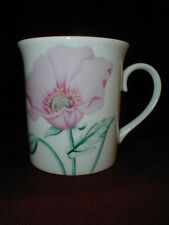 Horchow Japan Botanical Poppy Seed Herb Spice Flower Coffee/Tea Mug Cup loc-comp