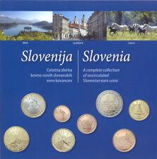 EURO KMS Slowenien 2007 Slovenija / Slovenia Set