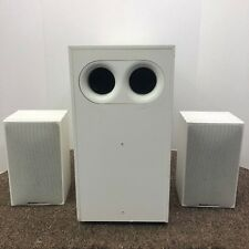 BOSTON ACOUSTICS SUBSAT SIX SUBWOOFER & 2 SATELLITE SPEAKERS - SOUND GREAT