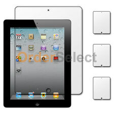 3X NEW Ultra Clear HD LCD Screen Protector for Tab Tablet Apple iPad 2 2nd Gen