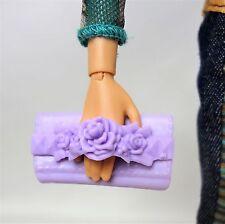 Luz púrpura Cartera Para Barbie My Scene Muñeca Accesorio De Moda