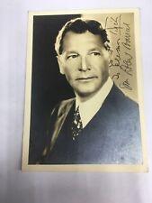 Robert Barrat Actor Signed Photo 1930s