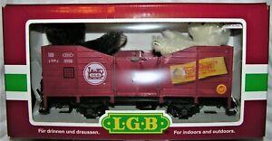 STEIFF 1999 LGB 2 BEARS IN TRAIN SET #41220 - NEW IN BOX