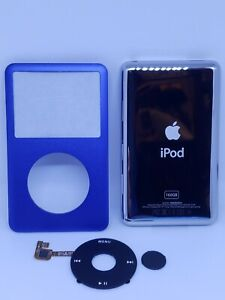 Ipod Classic 160gb BLUE faceplate / Front Cover /clickwheel and backplate