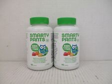 2 SMARTY PANTS KIDS FORMULA AND FIBER 90ct GUMMIES EA EX: 5/21 AW 2827