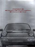 Brochure catalogue PORSCHE 1990 911 CARRERA 2 TIPTRONIC 4 TURBO