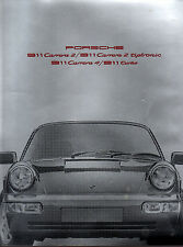 Brochure catalogue PORSCHE 1990 911 CARRERA 2 TIPTRONIC 4 TURBO
