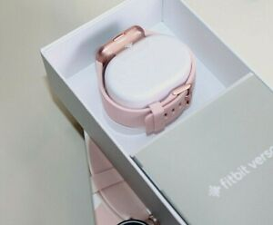 Fitbit Versa 2 smartwatch Pink strap petal copper Rose new  watch 0831