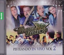 Los Alegres del Barranco Pisteando en Vivo Vol 2 CD New Nuevo Sealed