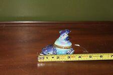 Dolphins Sea Life Porcelain Hinged Trinket Box New Jersey Souvenir