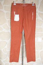 Pantalon couleur rouille neuf taille 38 marque Petit Baigneur étiqueté à 108€