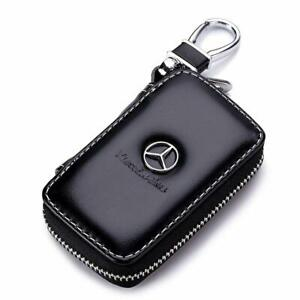 Leather Mercedes Benz Auto Car Key Remote Holder/Case pouch - Great Xmas Gift