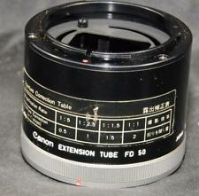 Canon Camera Lens Macro Extension Adapter Tube FD 50