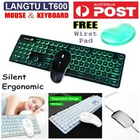 Wireless MINI Keyboard /& Mouse for LG 55LA6970 55 3D HD LED LCD Smart TV WT