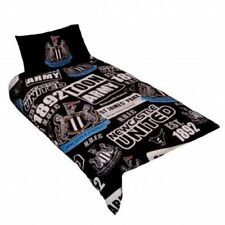 Newcastle United Single Duvet Set Reversible Patch New Official Licensed Product
