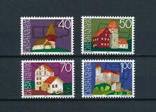 Liechtenstein   572-5  MNH, Architectural Heritage, 1975