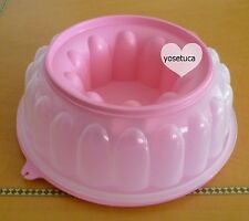 Tupperware Free Shipping New Cap: 6 cups Jello Flan Ice mold for punch bowl
