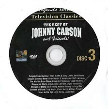 The Best of Johnny Carson & Friends Replacement DVD Disc 3 Only