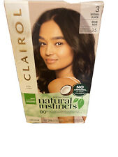 CLAIROL Natural Instincts Hair Color, 3 Brown Black
