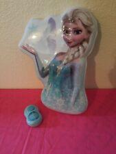 Disney Frozen Elsa Wall Hanging Talking Nightlight With Remote Control