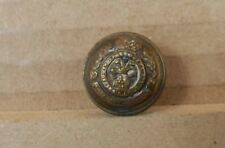 19th Century Victorian Prince of Wales Volunteers Cuff Button 18mm Jennens & Co