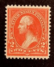 """US Stamp, Scott #248, 2c 1894, 2018 PSAG Certificate GC XF 90 M/NH """"Pink"""" color"""