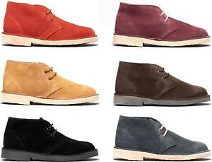Roamers ORIGINAL Mens Womens Ladies Suede Leather Made In Spain Desert Boots