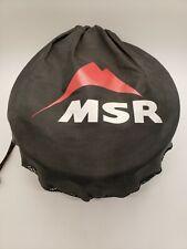 MSR Blacklite Cook Kit Pots, Plates and Bowls