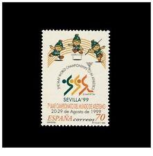 España Spain 1999 - Edifil 3627 VII Campeonato Mundial de Atletismo mnh