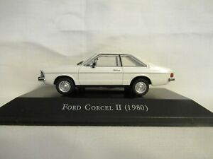 MAGAZINE ISSUE FORD CORCEL II 1980 SCALE 1:43