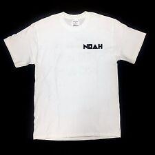 NWT Noah NY Men's White Punk Jody Paisley Logo Print T-Shirt S SS17 DS AUTHENTIC