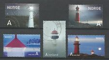 ˳˳ ҉ ˳˳NO06 Norway Norge Complete sets 2005-07-12 different Lighthouses