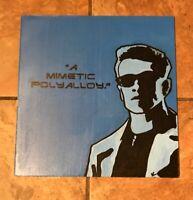 Terminator 2 Judgment Day Pop Art 12x12 Masonite Arnold Schwarzenegger ORIGINAL