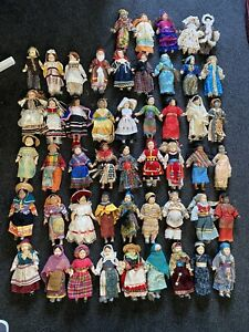 Dolls of the World, 50 In Collection