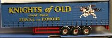 CORGI MODERN TRUCK CURTAINSIDE TRAILER KNIGHTS OF OLD