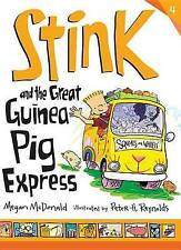 NEW Stink and the Great Guinea Pig Express by Megan McDonald