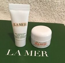 NEW RELEASE La Mer MATTE Moisturizing Lotion .1oz & Moisturizing GEL Cream .11oz