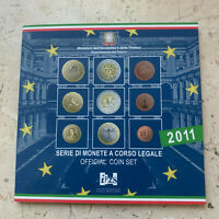 Italien - Vereinigung - 1 Cent - 2 x 2 Euro 2011 BU / Stgl CUNI