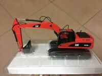 Special color! Norscot 55215 Caterpillar Cat 323D L Hydraulic Excavator Red 1/50