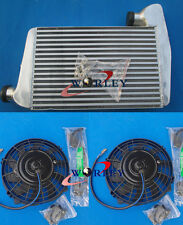 "Aluminum INTERCOOLER &7"" Fans FORD FALCON BA BF XR6 TURBO WITH MOUNTING KITS"