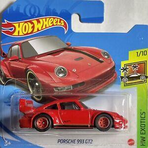 Hot Wheels 1/64 Porsche 993 GT2  Custom Real Riders,Serie Exotics 2021.