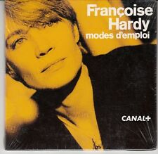 CD EP 6 T (PROMO) FRANCOISE HARDY *MODES D'EMPLOI* (NEUF SCELLE)