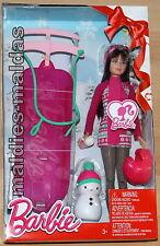 Barbie Schwestern Rodelspass mit Skipper CMY43 NEU/OVP Puppe