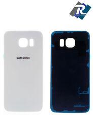Copri Batteria Back Cover Scocca Posteriore Rear Samsung Galaxy S6 G920 F BIANCO